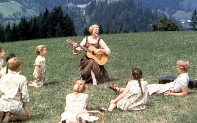 Gense The Sound of Music i biografen