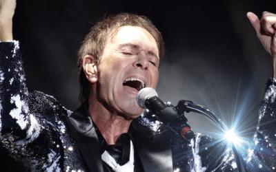 Cliff Richard koncert med introduktion af Jørgen de Mylius